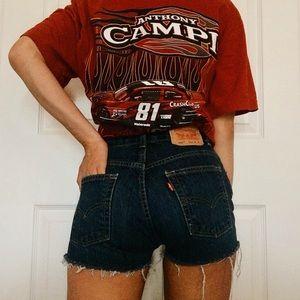 Levi's 505 Denim Shorts